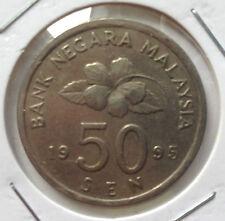 Malaysia 50 sen 1995 coin (C)