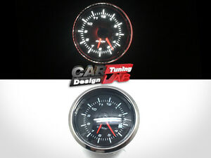 52mm-Clock-Time-Car-Auto-Yacht-Gauge-Meter-White-LED-Clear-Lens-12V-Waterproof