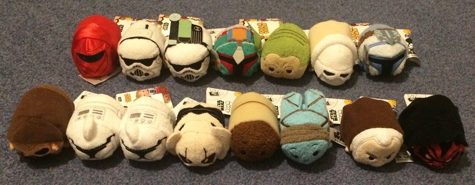 Star Wars Tsum Tsum Boba Fett Jango Grievous Clones Stormtroopers Jabba Dooku