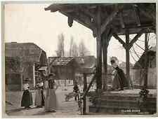 Sadag. Suisse, Genève Vintage print L'Exposition nationale de 1896 Phot