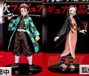 Demon-Slayer-Kimetsu-no-Yaiba-Kamado-Nezuko-Kamado-Tanjirou-Figure-Toy-New