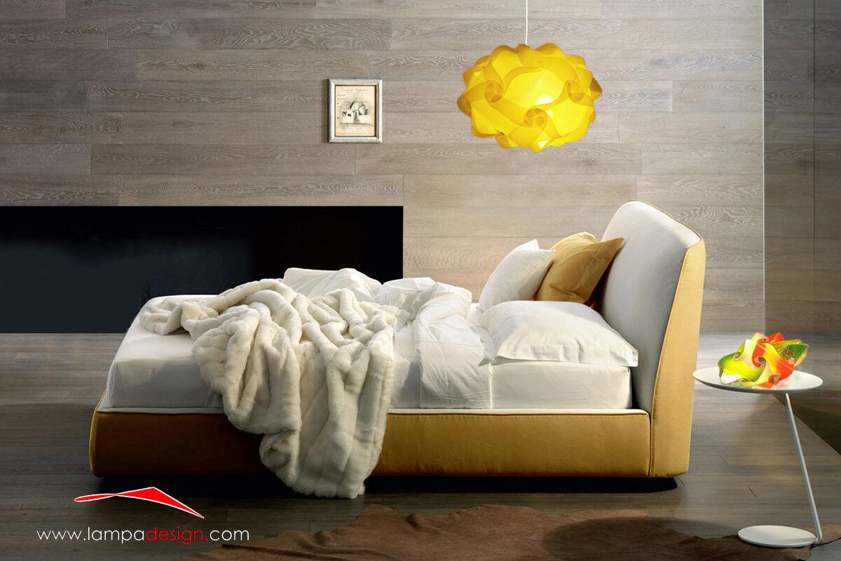 Lampadario originale da + abat jour da originale comò design stanza da letto Luci mansarda 337cec