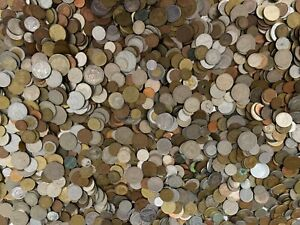 """1//2 POUND /""""BULK/"""" WORLD FOREIGN COIN LOTS"""