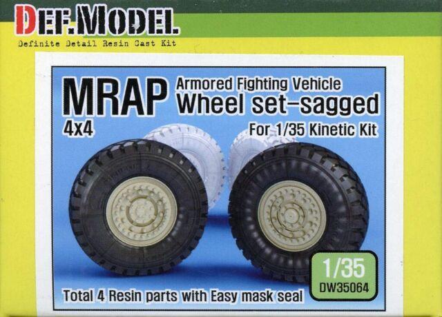 #DW35013 DEF Model 1:35 BTR-70 APC Sagged Wheel Set for Zvezda