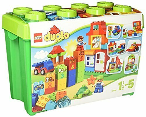 LEGO DUPRO Midori Container Super Deluxe 10580 NEW from Japan