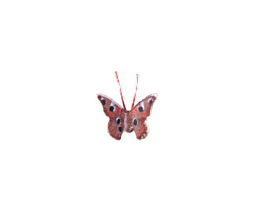 Dollhouse Artisan Buckeye Butterfly for 1:12 Doll House Miniature Garden