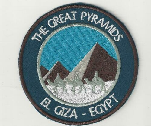 The Great Pyramids Giza Egypt Souvenir Patch
