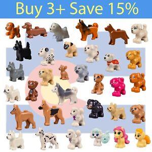 NEW-Lego-DOGS-ANIMAL-PICK-Friends-Parts-Bulk-Dog-Cat-Bunny-Kitty-Pet-Puppy