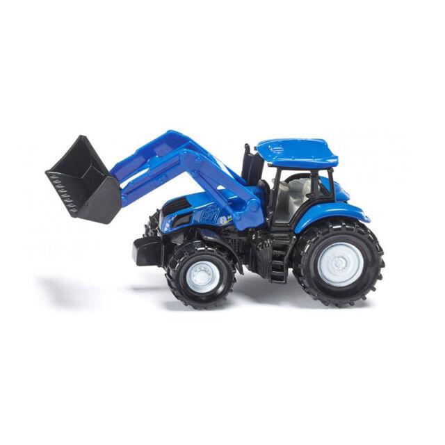 Siku 1355 New Holland Tractor con pala cargadora Azul (blister) Coche a Escala