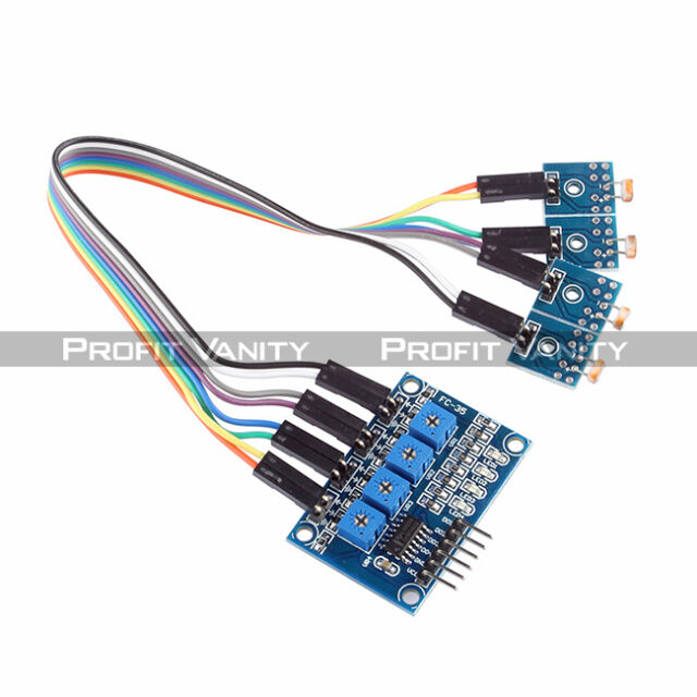 4 Channel Photosensitive Resistance Sensor Module For Arduino Raspberry Pi ARM