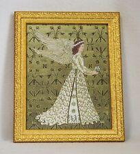 Guardian Angel of Marriage Gold Foil Offset Lithograph Framed Artwork Reseller