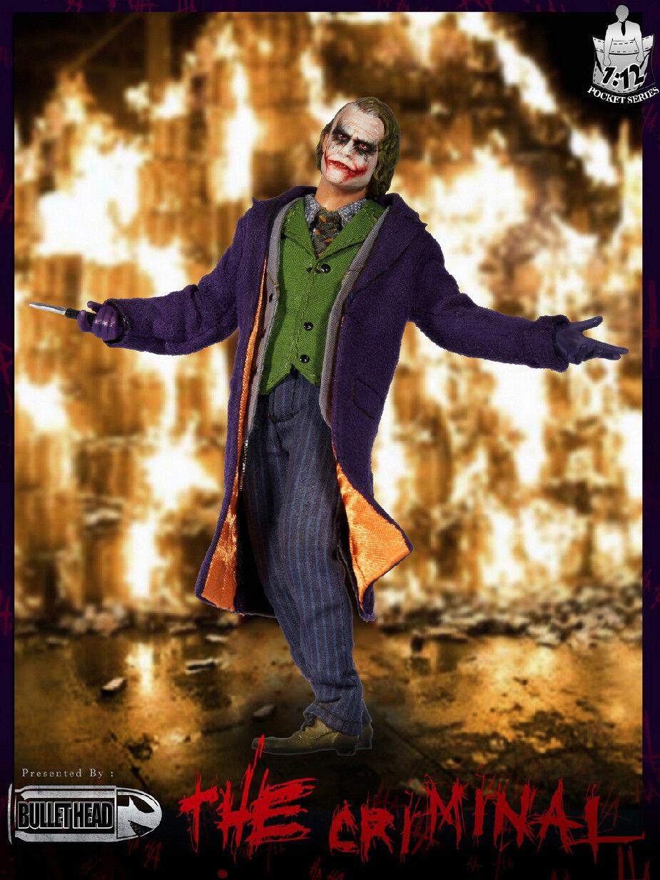 PO 1 12 Scale Bullet Head BH001 Joker Action Figure