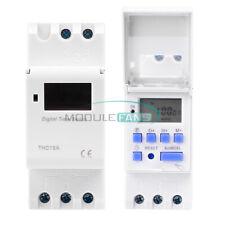 New Listing12v24v110v220v Programmable Days Weekly Digital Lcd Timer Time Relay Switch