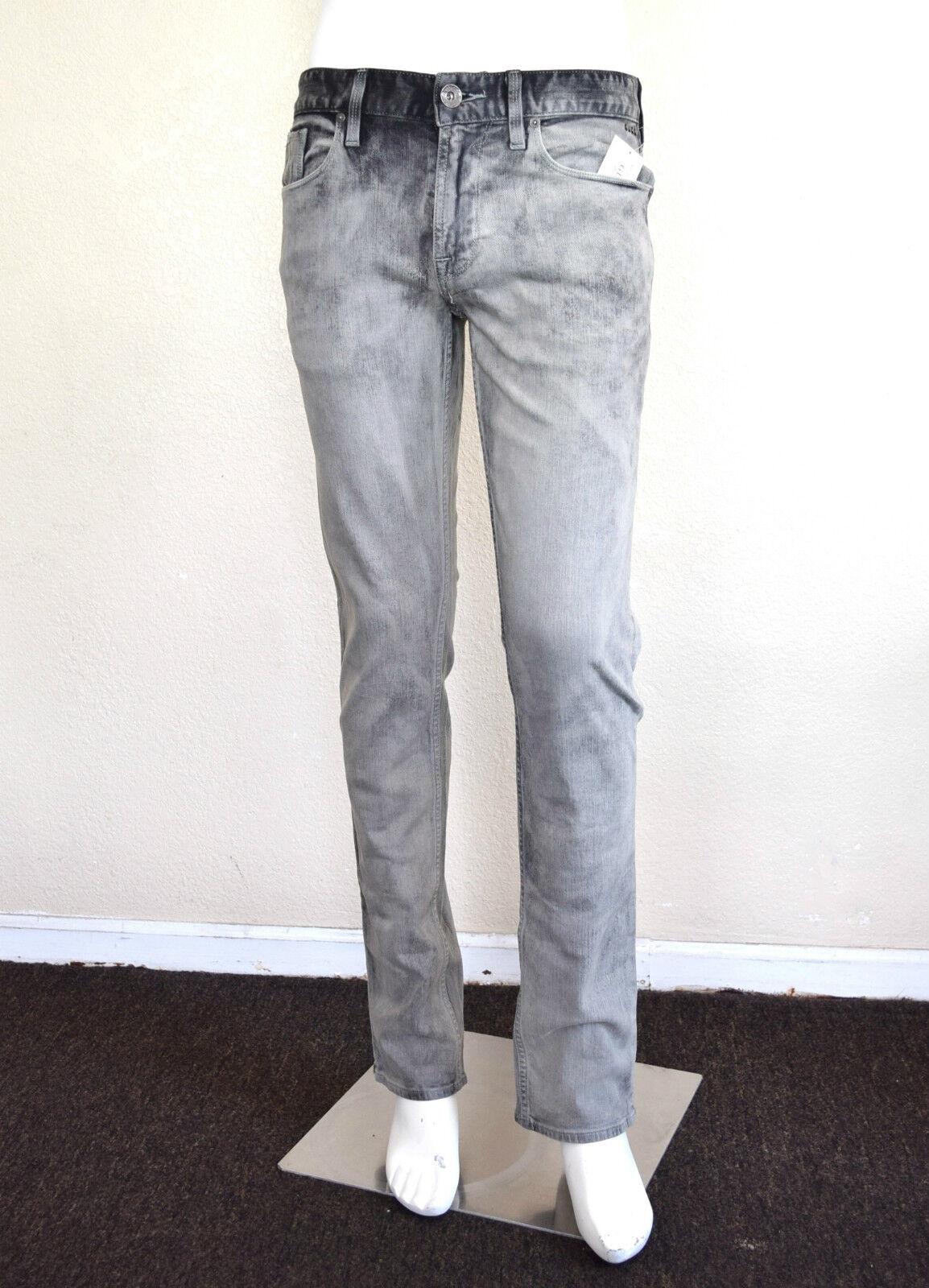 Guess Herren Schmal Gerade Jeans in Grau Grunge Wash Sz 30  | Der neueste Stil  | Internationale Wahl  | Gutes Design