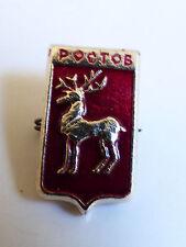 VTG Russian city Rostov Coat of Arms Pin Lapel