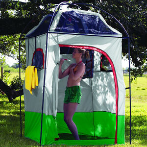 Portable Camp Shower Tent Shower Room Bathroom Privacy