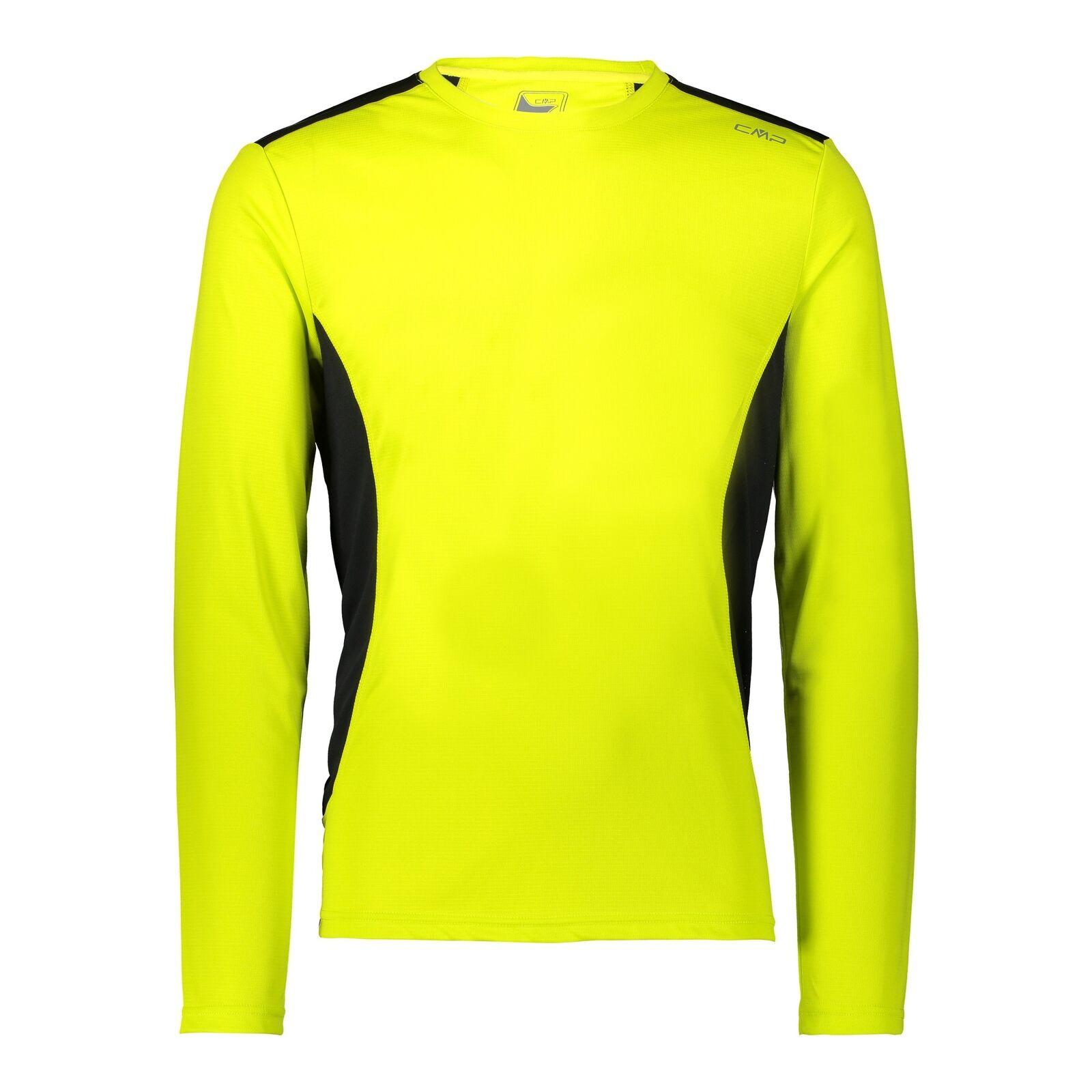 CMP Shirt Fonctionnel Chemise un Tee-Shirt yellow  Respirant Antibactérien  high quality