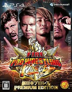 Fire-Pro-Wrestling-World-Wrestling-PREMIUM-EDITION-PS4-F-S-w-Tracking-Japan-New
