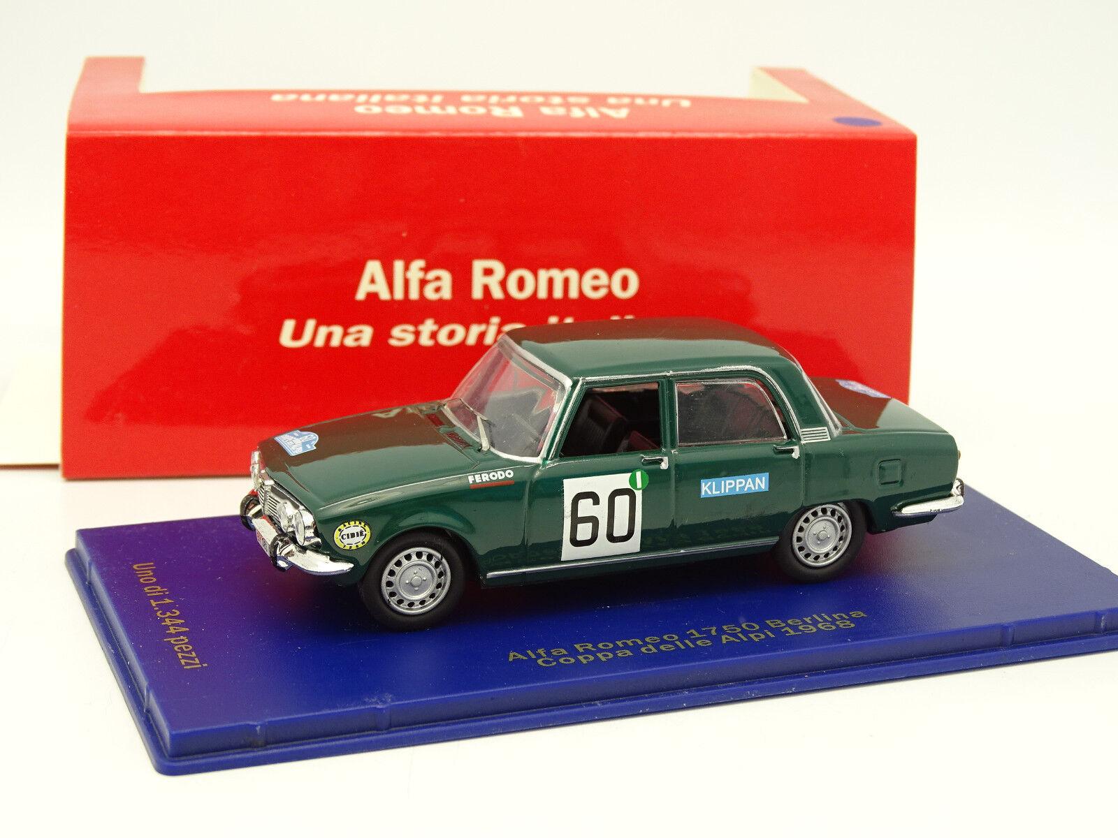 M4 1 43 - Alfa Romeo 1750 Coupe of the Alps 1968