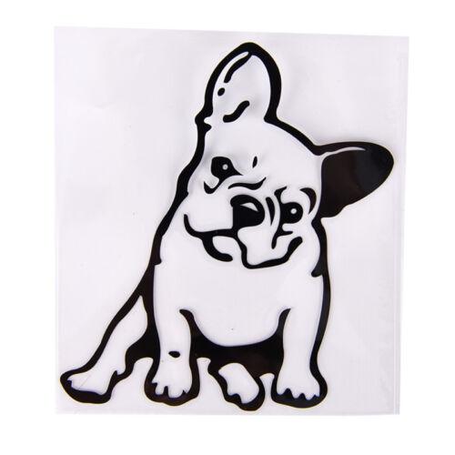 Haustier Auto Fenster Wandaufkleber LaptopP pt Französische Bulldogge Hund