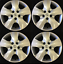 16-034-Hubcap-Wheelcover-Wheel-Cover-BLEMISHED-Set-fits-2006-2012-Toyota-RAV-4-RAV4 miniature 1