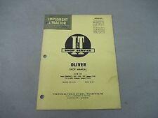 Oliver Iampt Shop Service Manual For Super 99gmtc 950 990 995 770 880 Series