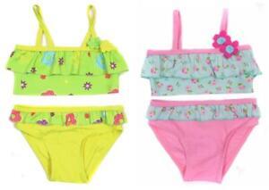 Baby-Girls-Bikinis-Swim-Suit-9-12M-12-18M-18-24M-2-3Y-Two-Colours