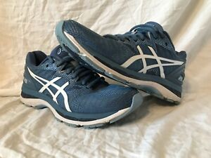 WOMEN-S-ASICS-GEL-NIMBUS-20-BLUE-TEAL-RUNNING-SHOES-COMFORTABLE-T850N-SIZE-10