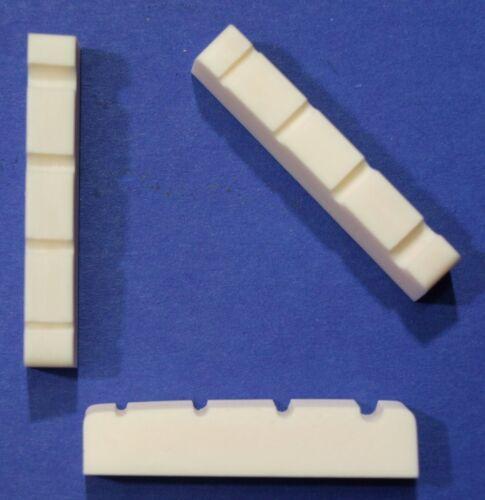 Knochen-Sattel für Bass-Gitarre 38 mm Spacing ca 29 mm Typ BK-27