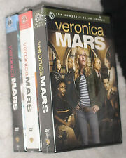 Veronica Mars Complete Seasons 1 2 3 NEW SEALED R2 DVD BOX SETS
