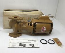 New Bampg Bell Amp Gossett Series 100 Booster Bronze Bnfi Circulator Pump 106197