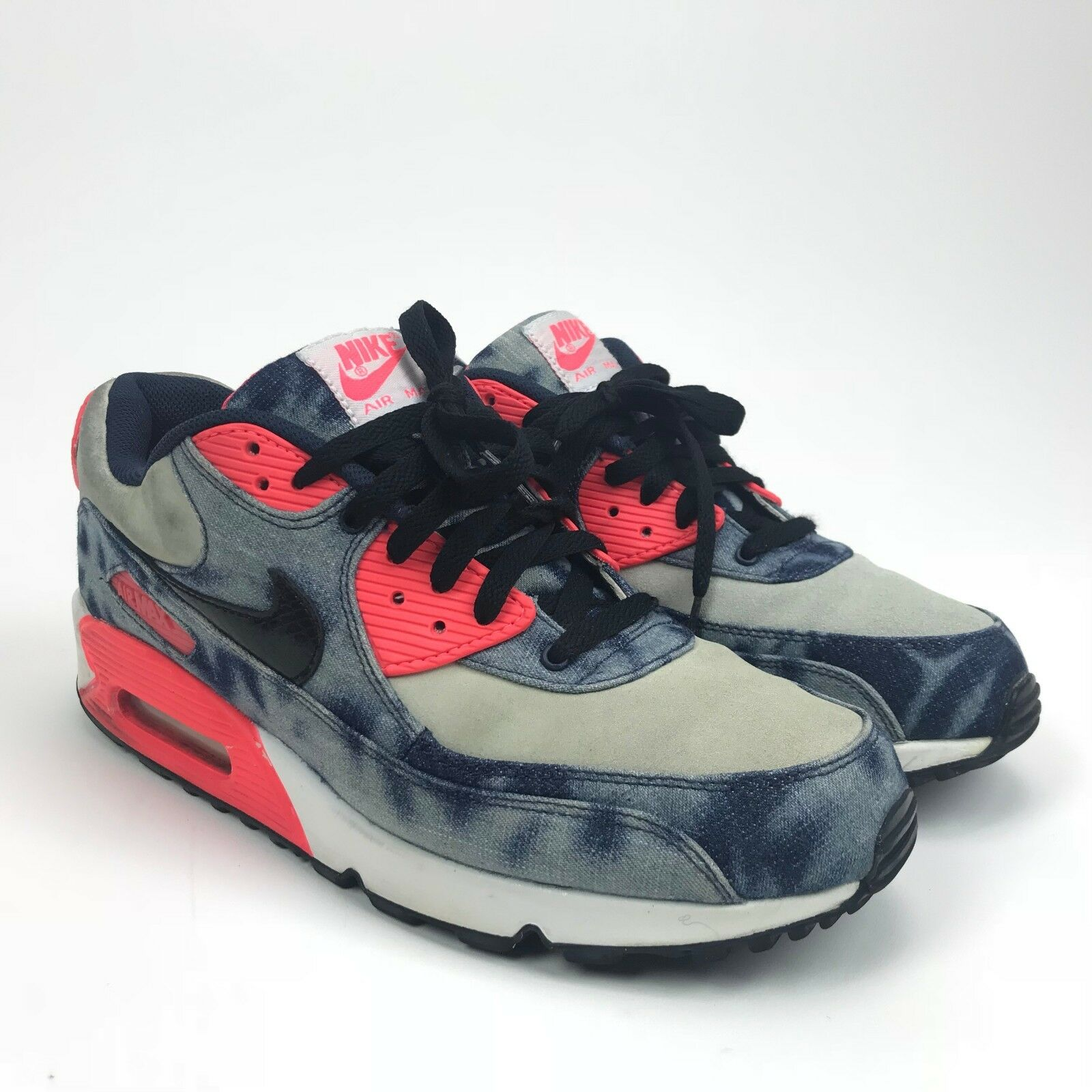 2014 Nike Air Max 90 x Atmos QS  Bleached Denim  Infrared SZ 9.5