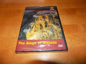THE-SIEGE-OF-MASADA-Battlefield-Detectives-ISRAEL-REVOLT-History-Channel-DVD-NEW