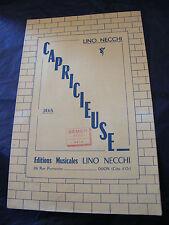 Partition Capricieuse Lino Necchi  Music Sheet