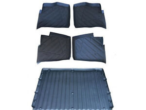 5 Pieces Polaris Ranger Floor Mats Liners Rubber 2013 2014