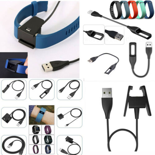 Smart Band USB Charger Charging Cable For Fitbit Alta Blaze HR Surge Flex Force