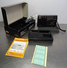vintage portable radio - Universum Weltempfänger Uhrenradio Reiseweckerradio OVP