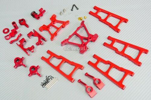 For Traxxas METAL Upgrade Arm Steering Knuckle 4X4 Slash Stampede Rustler R
