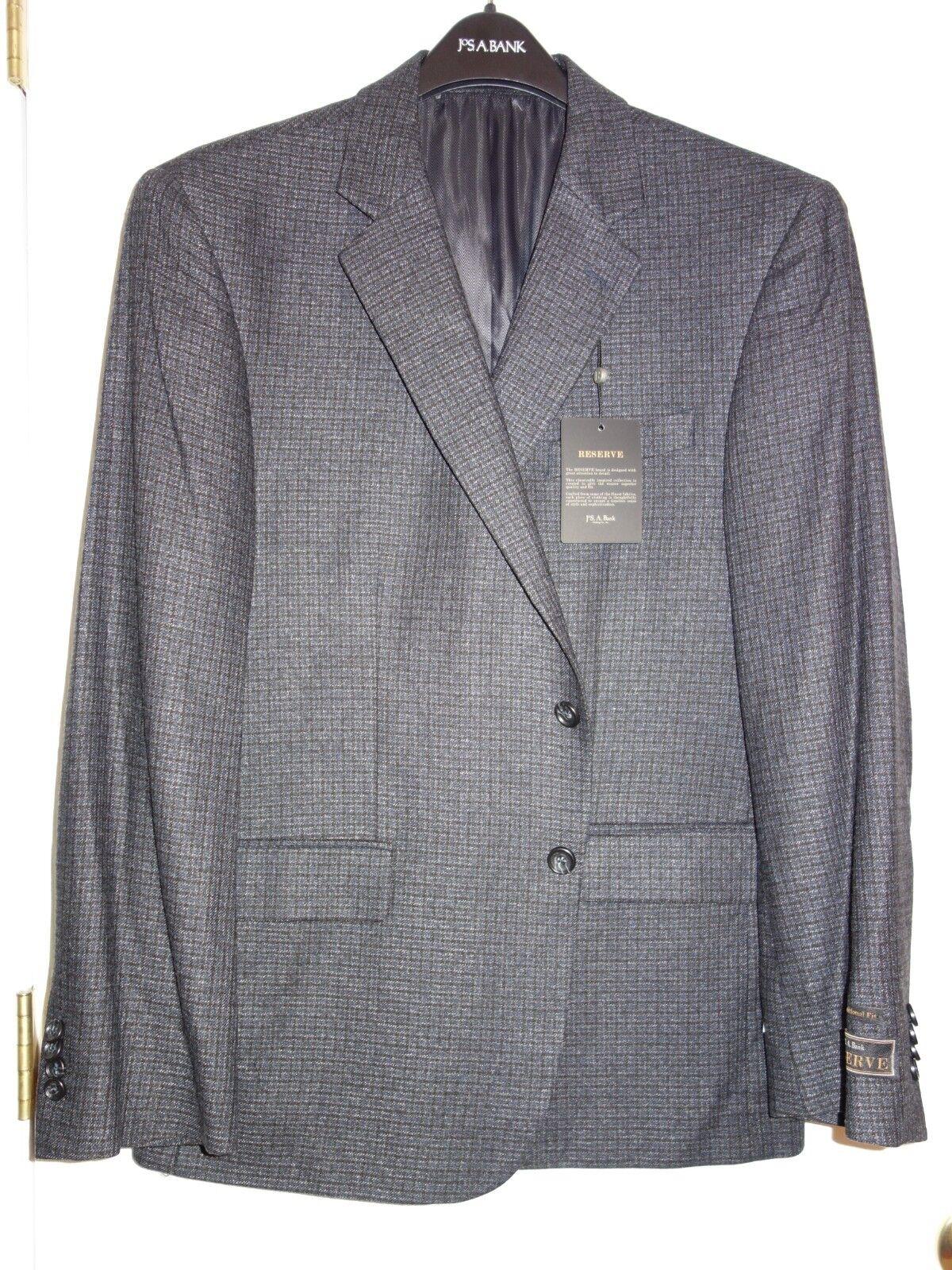 NEW Jos. A. Bank RESERVE Sport Coat  sz. 44 S