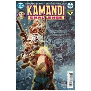 Kamandi Challenge #7 in Near Mint condition. DC comics [*34]