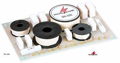 Vereinigt 2 Stück Frequenzweiche Monacor Dn-200 (8 Ohm, 3-weg, 700/3500hz, 12db) Bequem Zu Kochen