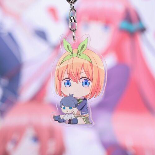 The Quintessential Quintuplets Itsuki Miku Ichika Nino Yotsuba Acrylic Keychain