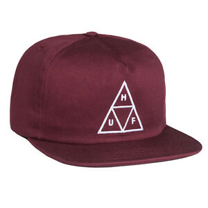 HUF-TRIPLE-TRIANGLE-SNAPBACK-CAP-WINE
