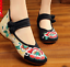 Chinese-Embroidered-Floral-Shoes-Women-Ballerina-Flat-Ballet-Cotton-Loafer-snug thumbnail 24