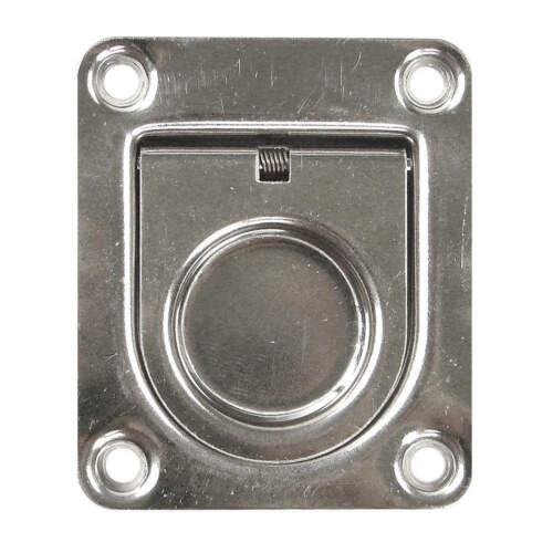 Fasteners & Hardware Recessed Folding Pull Handle,Polished PH-0306 ...