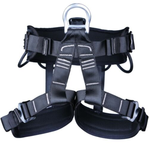 1pc Safety Rock Climbing Rappelling Harness Sitting Waist Belt Fire Rescue Tools