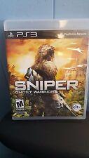 SNIPER GHOST WARRIOR Sony PlayStation 3, 2011 Blu-ray Disc