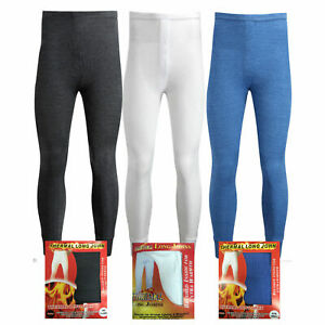 Mens-Thermal-Long-Johns-Bottom-Underwear-Trousers-S-M-L