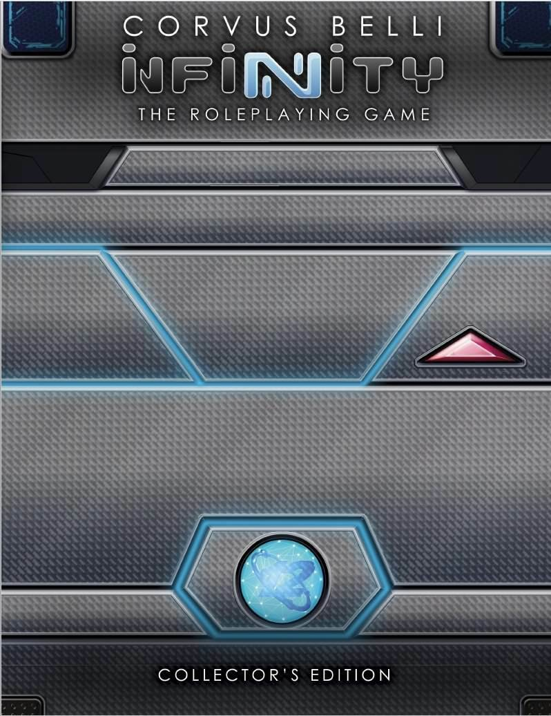 Libro de núcleo RPG modiphius Nuevo Y En Caja infinity edición coleccionista MUH050205