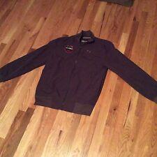Under Armour Dark Gray CP+B United Soccer Football Athlete Jacket sz M
